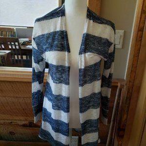 Striped summer cardigan